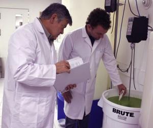 JC Rosa en laboratoire & conception